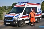 Akcja ratownicza na Wisłoce
