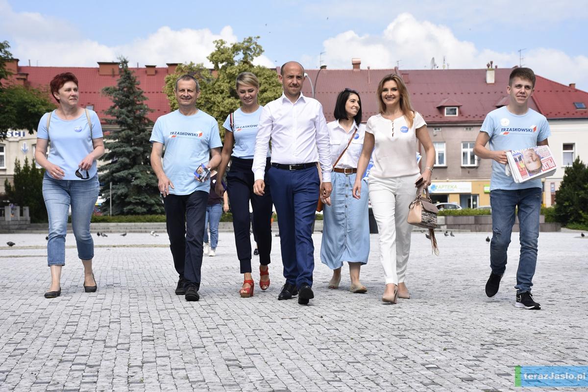 Borys Budka w Jaśle