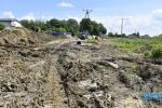 Budowa drogi KG2 w Jaśle