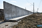 Budowa peronu kolejowego Jasło-Fabryczna