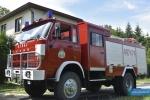 Ćwiczenia strażackie w Dobrucowej