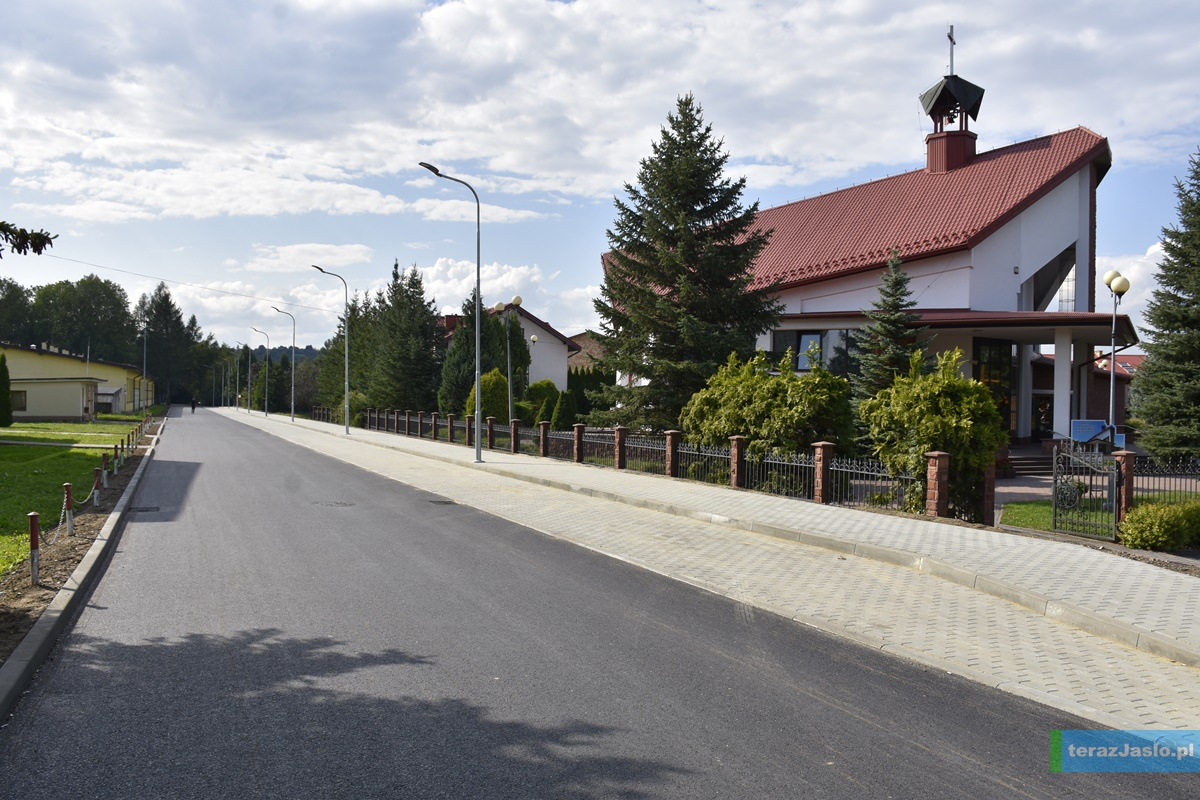 Droga dojazdowa do MOPS