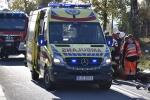 Wypadek w Gorzycach