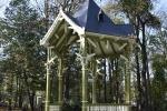 Glorietka w Parku Miejskim po remoncie
