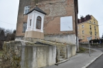 Renowacja kapliczki - ulica Jagiełły