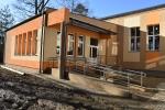Rozbudowana sala gimnastyczna przy SP nr 11 (Gamrat)