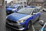 Nowe radiowozy jasielskiej Policji