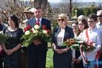 Odsłonięcie obelisku katyńskiego w Tarnowcu