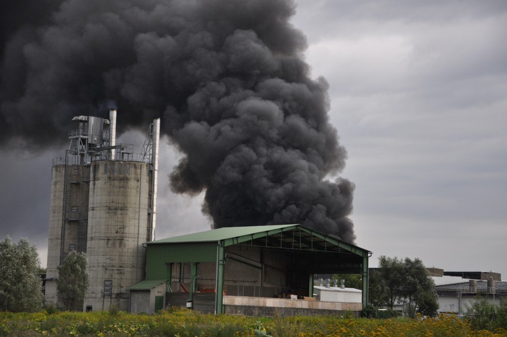 Pożar w Jaśle