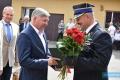 Przejście Komendanta Powiatowego PSP w Jaśle na emeryturę