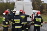 Czołowe zderzenie busów w Świerchowej