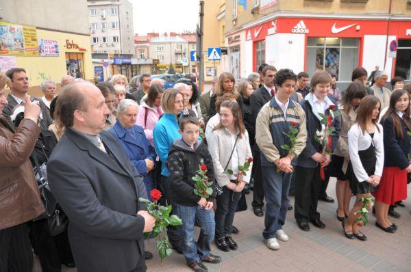 Jaślanie modlili się w intencji księdza Popiełuszki (fot. UMJ)