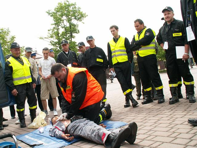Jedno z zadań ratowniczych, z którymi musieli zmierzyć się ochotnicy ze Skołyszyna. Fot. OSP Skołyszyn