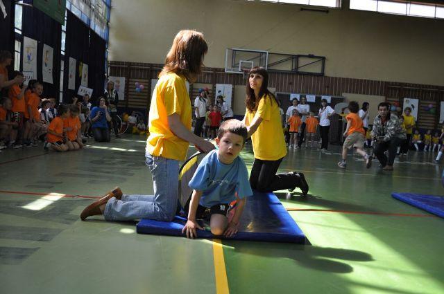 Dla dzieciaków przygotowano sporo konkurencji sportowych. Fot. archiwum
