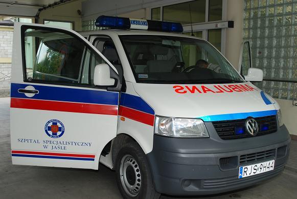 Karetka transportowa kosztowała 40 tysięcy złotych. Fot. Damian Palar