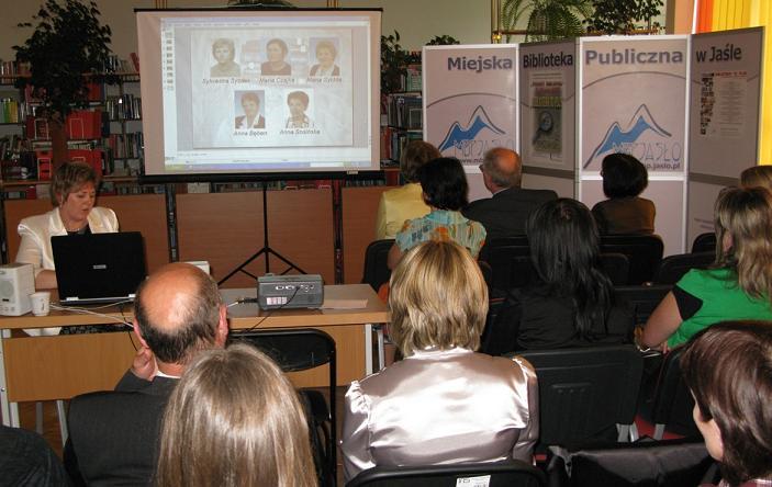 Powiatowy Dzień Bibliotekarza 2009. Fot. MBP w Jaśle