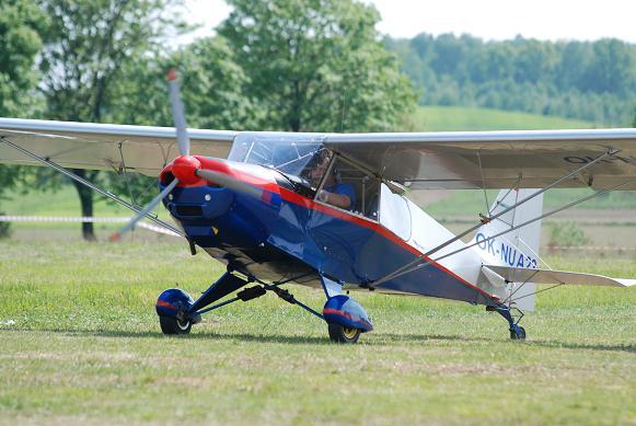W końcu jasielscy pasjonaci lotnictwa doczekali się własnego lądowiska Fot. Damian Palar