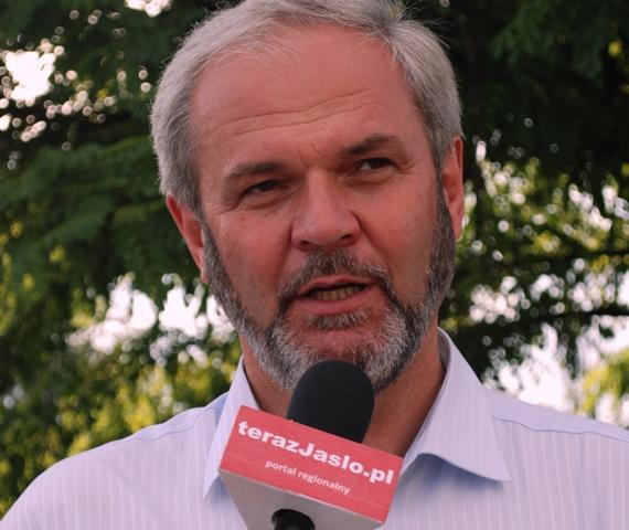 Ryszard Pabian, wiceburmistrz Jasła. Fot. Damian Palar