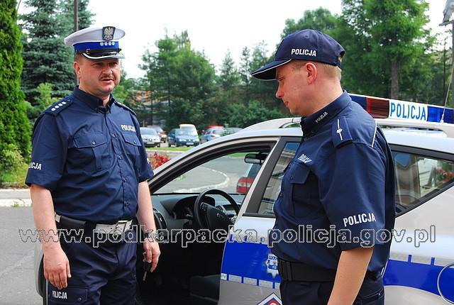 Policjantów będzie można spotkać w nowym umundurowaniu. Fot. KWP w Rzeszowie