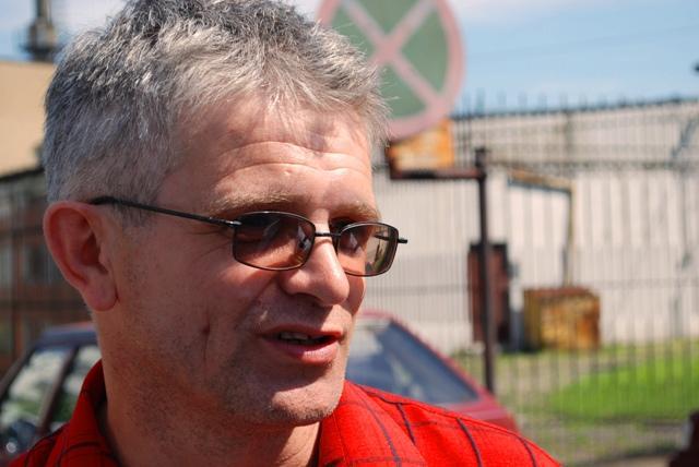 Edmund Gondek, przewodniczący Solidarności w Pektowinie