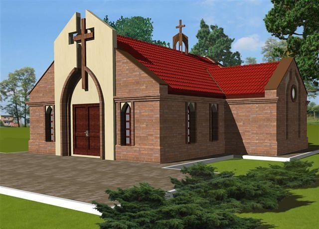 Projekt kaplicy cmentarnej