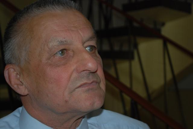 Franciszek Bosak, prezes ZPOW Pektowin. Fot. Daniel Baron