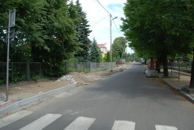 Ulica Piotra Skargi będzie teraz w zarządzie miasta. Fot. terazJaslo.pl / Damian Palar