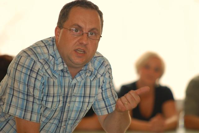 Krzysztof Czeluśniak, radny miejski. Fot. terazJaslo.pl / Damian Palar