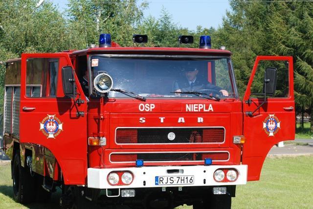 Nowy wóz bojowy OSP Niepla. Fot. Damian Palar