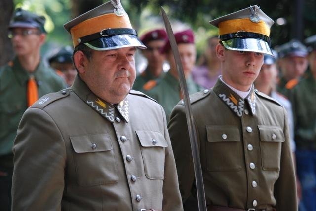 W pięcioletniej historii Szwadronu Niepołomice nigdy nie miała miejsce taka sytuacja, jak ta podczas Święta WP w Jaśle. Fot. Damian Palar