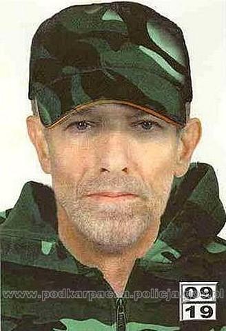 Portret pamięciowy zaginionego mężczyzny
