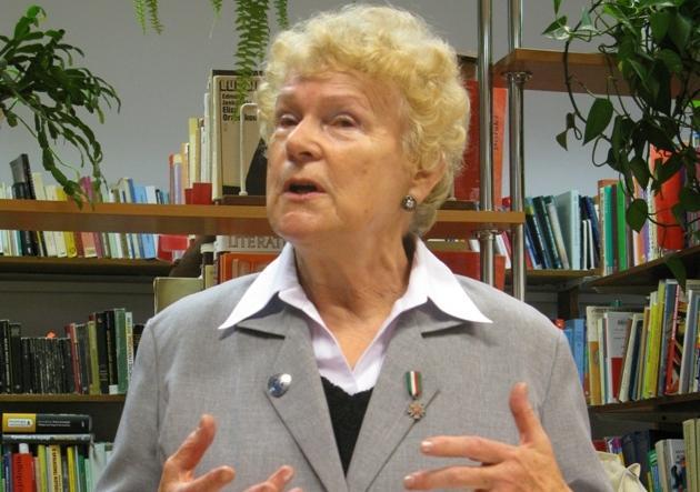 Barbara Powroźnik. Fot. MBP w Jaśle