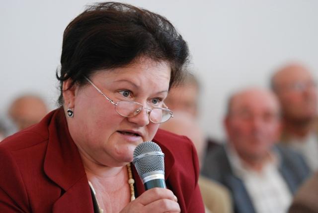 Krystyna Zięba, mieszkanka ulicy Bławatnej Fot. terazJaslo.pl / Damian Palar