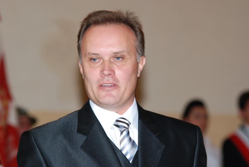 Wacław Błasik, dyrektor II LO w Jaśle. Fot. Damian Palar / terazJaslo.pl