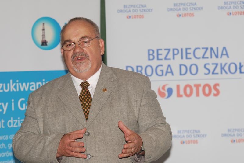 Prezes JKMiRD Józef Biernacki od wielu lat organizuje akcje na rzecz poprawy bezpieczeństwa ruchu drogowego. Fot. Damian Palar / terazJaslo.pl