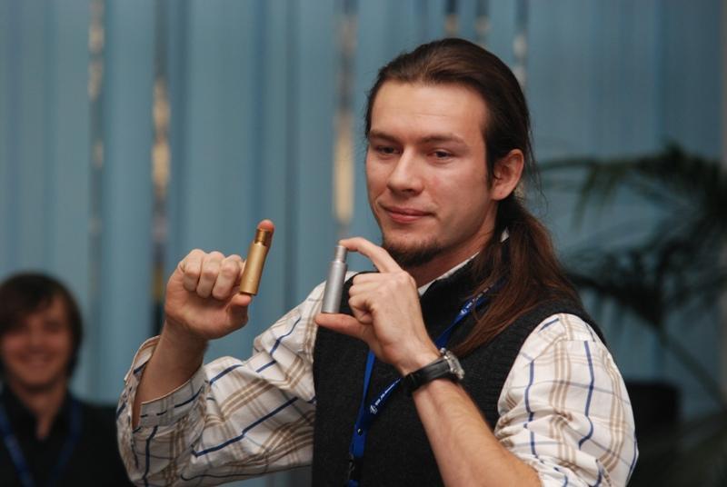 Prowadzący zajęcia Marcin Rączka. Fot. Damian Palar / www.terazJaslo.pl