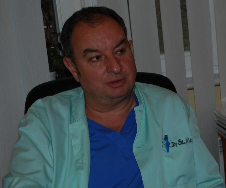 dr n. med. Szymon Niemiec. Fot. Damian Palar / terazJaslo.pl