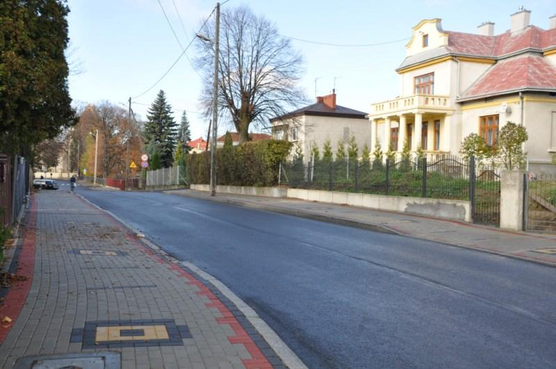 Ulica Piotra Skargi po remoncie. Fot. Urząd Miasta Jasła