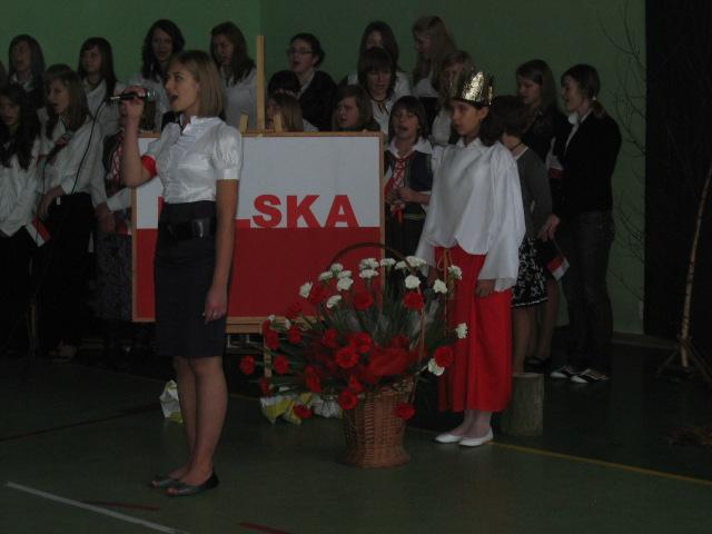 Uroczysta akademia. Fot. ZS w Osobnicy