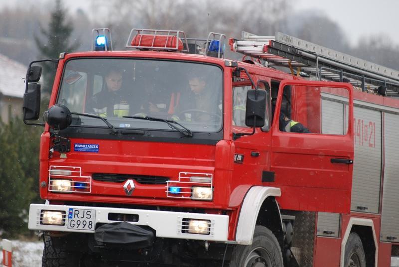 W akcji brały udział trzy zastępy JRG PSP Jasło. Fot. archiwum terazJaslo.pl