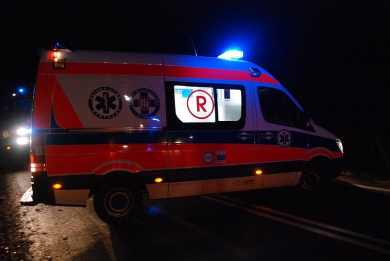 Wypadek w Warzycach. Fot. Damian Palar / terazJaslo.pl