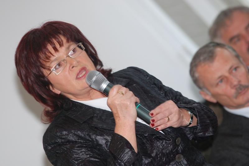 Maria Kurowska, burmistrz Jasła. Fot. Damian Palar / terazJaslo.pl