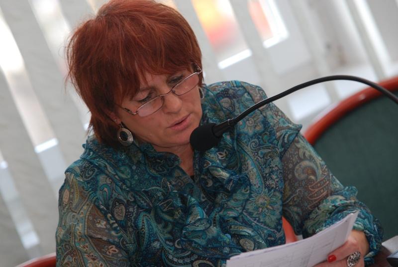 Elżbieta Bernal, radna miejska. Fot. Damian Palar / terazJaslo.pl
