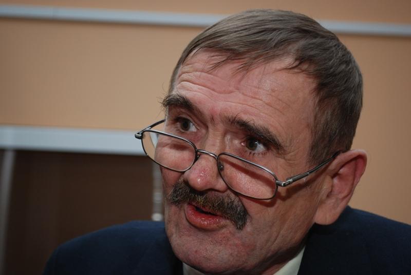 Czesław Pojnar, odtwórca roli Nikifora. Fot. Damian Palar / terazJaslo.pl