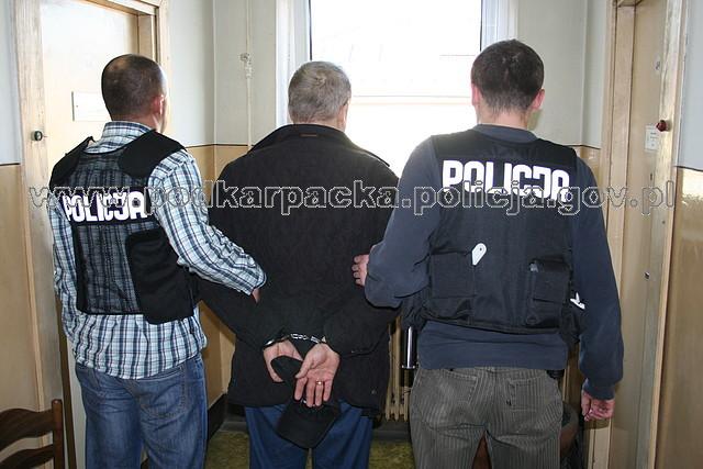 Poszukiwany mężczyzna zatrzymany. Fot. POLICJA