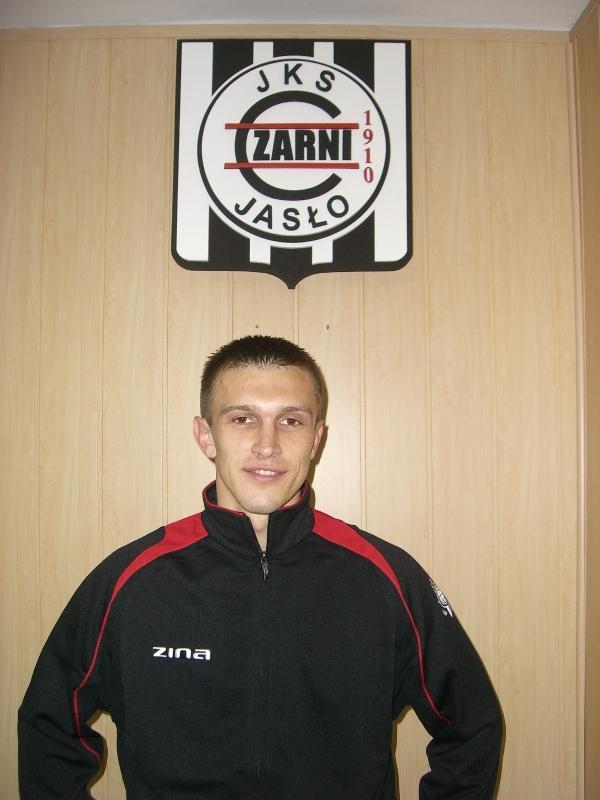 Tomasz Dziobek, zwycięzca plebiscytu w ubiegłym roku. Fot. www.czarniJaslo.pl