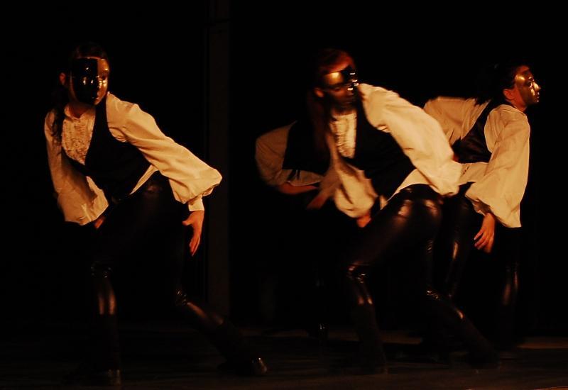 R-Revolution na scenie. Fot. Jasielski Dom Kultury
