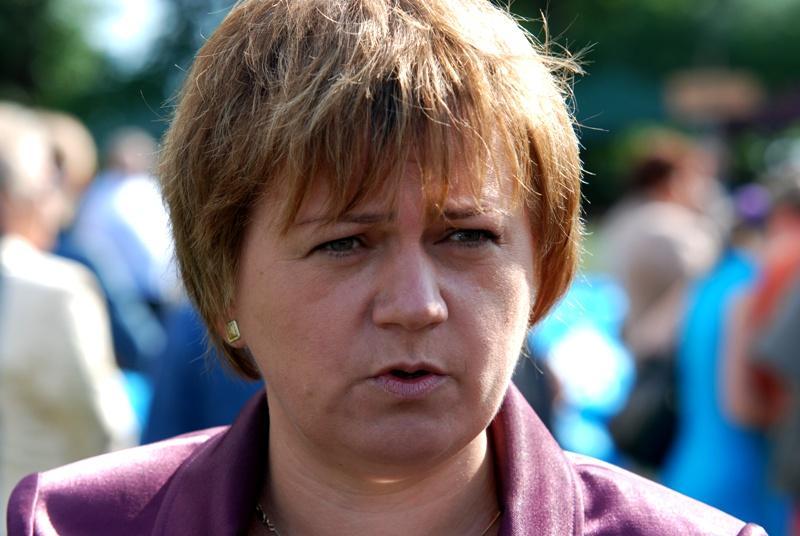 Małgorzata Salacha jeszcze przez dwa tygodnie będzie wójtem. Fot. Daniel Baron / terazJaslo.pl