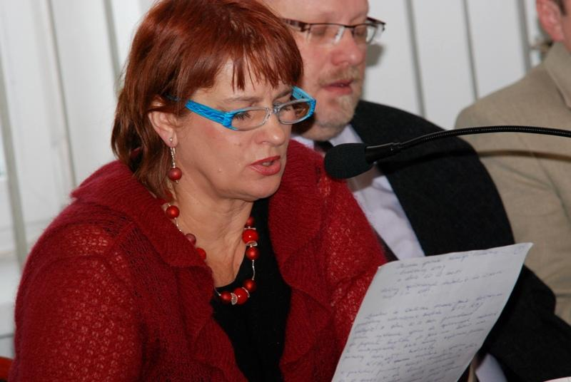 Elżbieta Bernal, radna miejska. Fot. terazJaslo.pl / Damian Palar