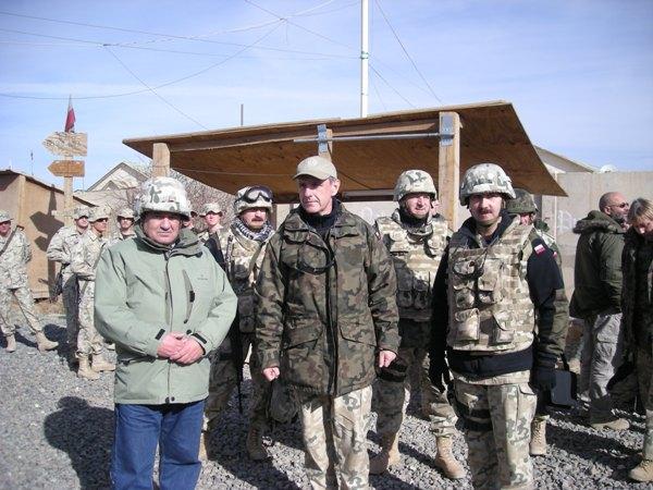 Senator Stanisław Zając w Afganistanie